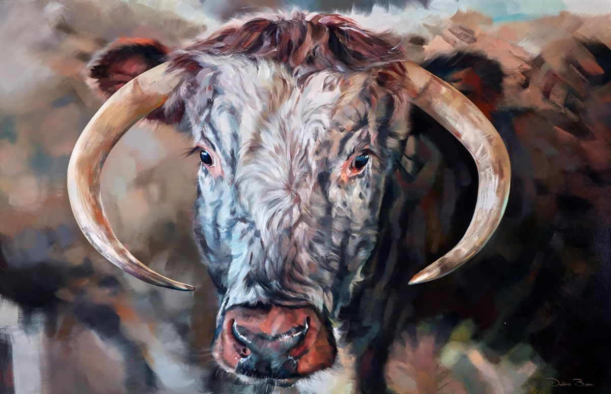 Gentle Giant by debbie boon -  sized 67x43 inches. Available from Whitewall Galleries